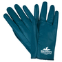 MCR Safety® Large Consolidator® Blue Premium Nitrile Work Gloves With White Nitrile Liner And Slip-On Cuff