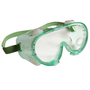 Kimberly-Clark Professional* KleenGuard™ Monogoggle* 211 Splash Goggles With Green Respirator Compatible Frame And Clear Anti-Fog Lens (Lead time for this product may be longer than normal.)