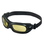 Kimberly-Clark Professional* KleenGuard™ Wildcat* Splash Goggles With Black Flexible Wraparound Frame And Amber Anti-Fog Lens (Lead time for this product may be longer than normal.)