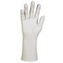Kimberly-Clark Professional* Size 8.5 White Kimtech Pure* G3 5 mil Nitrile Sterile Hand-Specific Disposable Gloves (20 Pairs Per Box)