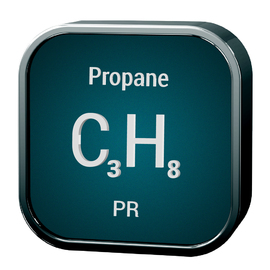 Propane, Industrial Grade, Size 20LP Cylinder, CGA-510 (17 Lbs Average Product)