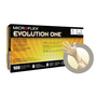 Ansell Large Natural Microflex® Evolution One® 5.5 mil Natural Rubber Latex Disposable Gloves