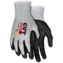 MCR Safety® Large Cut Pro™ 13 Gauge HyperMax™ Cut Resistant Gloves With Nitrile Coated Palm