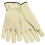 Memphis Glove Medium Natural Select Grade Cowhide Unlined Drivers Gloves
