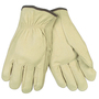 Memphis Glove Medium Natural Select Grade Pigskin Unlined Drivers Gloves