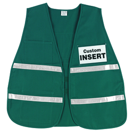 MCR Safety® Lime MCR Safety® Cotton/Polyester Incident Command Vest