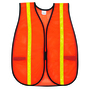 MCR Safety® Hi-Viz Orange MCR Safety® Polyester Mesh General Purpose Vest