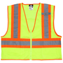 MCR Safety® 3X Hi-Viz Lime MCR Safety® Polyester Mesh Safety Vest
