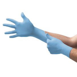 Ansell Large Blue Microflex® Nitron One® 7.1 mil Nitrile Disposable Gloves