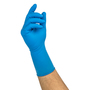 Ansell Large Blue Microflex® SafeGrip® 14.2 mil Latex Disposable Gloves (Availability restrictions apply.)