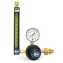 Miller® Model 22-80 Heavy Duty Series 20 Argon And CO2 Flowmeter Regulator, CGA 580