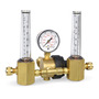 Miller® Model 23-50 Argon, Helium And Argon/CO2 Mix Dual Flowmeter Regulator, CGA 580