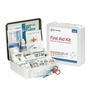 First Aid Only® White Metal Portable/Wall Mount 50 Person First Aid Kit