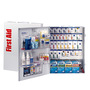 First Aid Only® White Metal Wall Mount 150 Person SmartCompliance™ First Aid Cabinet