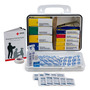 First Aid Only® White Plastic Portable/Wall Mount 25 Person Welders First Aid Kit