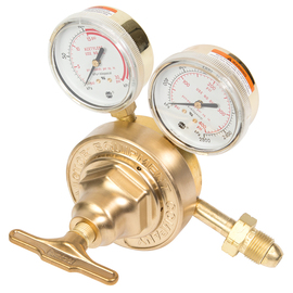 Victor High Capacity Acetylene Single Stage flowmeter regulator