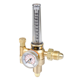Victor® Model HRF2425-580 Medium Duty Argon And Argon/CO2 Mix And Helium Flowmeter Regulator, CGA-580