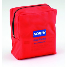 Honeywell North® Red Nylon 5 Person Soft-Sided First Aid Kit