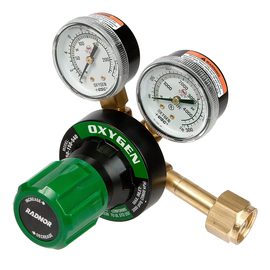 Radnor® Model 350 Series Victor® Heavy Duty Oxygen Single Stage Regulator, CGA-540
