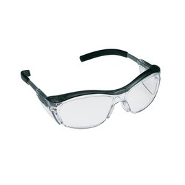 3M™ Nuvo™ Protective Eyewear 11411-00000-20 Clear Anti-Fog Lens, Gray Frame (Lead time for this product may be longer than normal.)