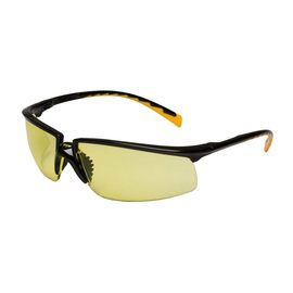 3M™ Privo™ Protective Eyewear 12263-00000-20 Amber Anti-Fog Lens, Black Frame (Lead time for this product may be longer than normal.)