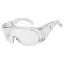 RADNOR® Visitor Spec Series Clear Frameless Safety Glasses With Clear Polycarbonate Lens (Lead time for this product may be longer than normal.)