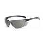 RADNOR® Classic Plus Gray Frameless Safety Glasses With Gray Polycarbonate Hard Coat Lens (Lead time for this product may be longer than normal.)