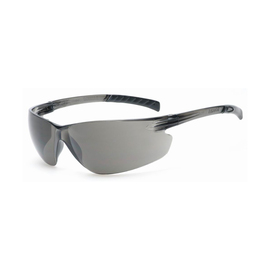 RADNOR® Classic Plus Gray Frameless Safety Glasses With Gray Polycarbonate Anti-Fog/Hard Coat Lens (Lead time for this product may be longer than normal.)