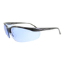 RADNOR® Motion Black Safety Glasses With Blue Polycarbonate Anti-Scratch Lens (Lead time for this product may be longer than normal.)