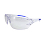 RADNOR® Cobalt Classic Clear Frameless Safety Glasses With Clear Polycarbonate Anti-Fog/Anti-Scratch Lens And Flexible Cushioned Temples (Lead time for this product may be longer than normal.)