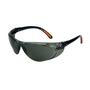 RADNOR® Action Gray Frameless Safety Glasses With Gray Polycarbonate Anti-Scratch Lens (Lead time for this product may be longer than normal.)
