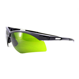 RADNOR® Premier Series Black Safety Glasses With Shade 3.0 IR Polycarbonate Anti-Scratch Lens (Lead time for this product may be longer than normal.)