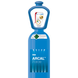 Airgas® ARCAL™ Force Shielding Gas Mixture 18 % Carbon Dioxide Balance Argon, Size 300 High Pressure Steel SMARTOP™ Cylinder, CGA-580