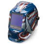 Lincoln Electric® VIKING® 3350 Red/White/Blue Welding Helmet With Variable Shades 5 - 13 Auto Darkening Lens, 4C® Lens Technology And All American® Graphic