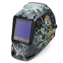 Lincoln Electric® VIKING® 3350 Black/Green Welding Helmet With Variable Shades 5 - 13 Auto Darkening Lens, 4C® Lens Technology And Zombie® Graphic