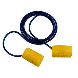 3M™ E-A-R™ Classic™ Earplugs 310-1080, Corded, Poly Bag
