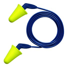 3M™ E-A-R™ Push-Ins™ SofTouch™ Earplugs 318-4001, Corded, Poly Bag