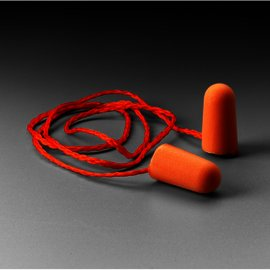 3M™ Foam Earplugs 1110, Corded