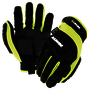 RADNOR® Medium TrekDry®, Synthetic Leather And TPR Impact 360 Cut Resistant Gloves With Touchscreen Technology