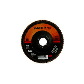 3M™ Cubitron™ II Flap Disc 967A, T29, 5 in x 7/8 in, 80+ Y-weight