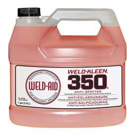 Weld-Aid 1 Gallon Bottle Red Weld-Kleen 350® Water Based Anti-Spatter