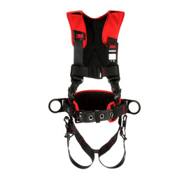 3M™ PROTECTA® Comfort Construction Style Positioning Harness 1161205, Black