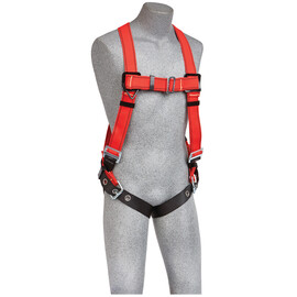 3M™ DBI-SALA® Medium/Large PROTECTA® PRO™ Welder's Vest Style Harness With Back D-Ring And Tongue Buckle Leg Strap