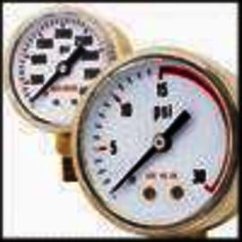 Victor® 50 mm White Steel Pressure Gauge With 1/8