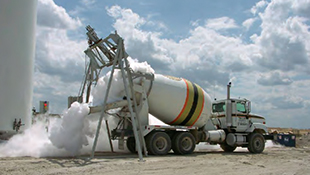 Downloadable N2 research study from the University of Texas recommending N2-injection as a primary concrete cooling option