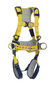 3M™ DBI-SALA® X-Large Delta™ Construction Style Positioning/Climbing Harness With Back, Front And Side D-rings, Belt With Pad, Quick Connect Buckle Leg And Chest Straps