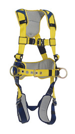 3M™ DBI-SALA® X-Large Delta™ Construction Style Positioning  Harness With Back And Side D-Rings, Belt With Pad, Quick Connect Buckle Leg And Chest Straps And Comfort Padding