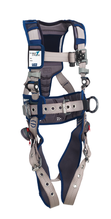 3M™ DBI-SALA® Large ExoFit STRATA™ Construction Style Harness With Aluminum Back And Side D-Rings, Tongue Buckle Leg Straps, Waist Pad And Belt