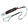 3M™ DBI-SALA® 6' PROTECTA® PRO™ Pack Hot Works Kevlar® Web Single-Leg Shock-Absorbing Lanyard With Snap Hook At One End, Steel Rebar Hook At Other End