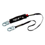 3M™ DBI-SALA® 6' PROTECTA® PRO™ Pack Hot Works Kevlar® Web Single-Leg Shock-Absorbing Lanyard With Snap Hooks At Each End